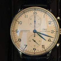 IWC Cronografo 41mm Automatico 2006 usato Portuguese Chronograph Argento