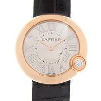 Cartier Ballon Blanc Oro rosado 30mm Plata