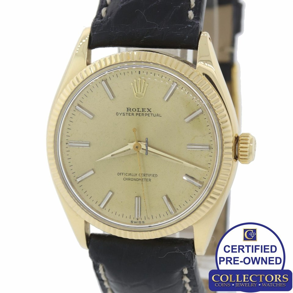 abfe5526fde2e Pre-owned Rolex Oyster Perpetual 34   buy a pre-owned Rolex Oyster  Perpetual 34 watch