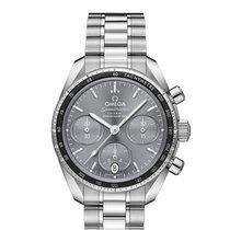Omega Speedmaster новые Автоподзавод Хронограф Часы с оригинальными документами и коробкой 324.30.38.50.06.001