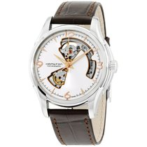 Hamilton Jazzmaster Open Heart Steel 45mm Silver Arabic numerals United States of America, New York, Brooklyn