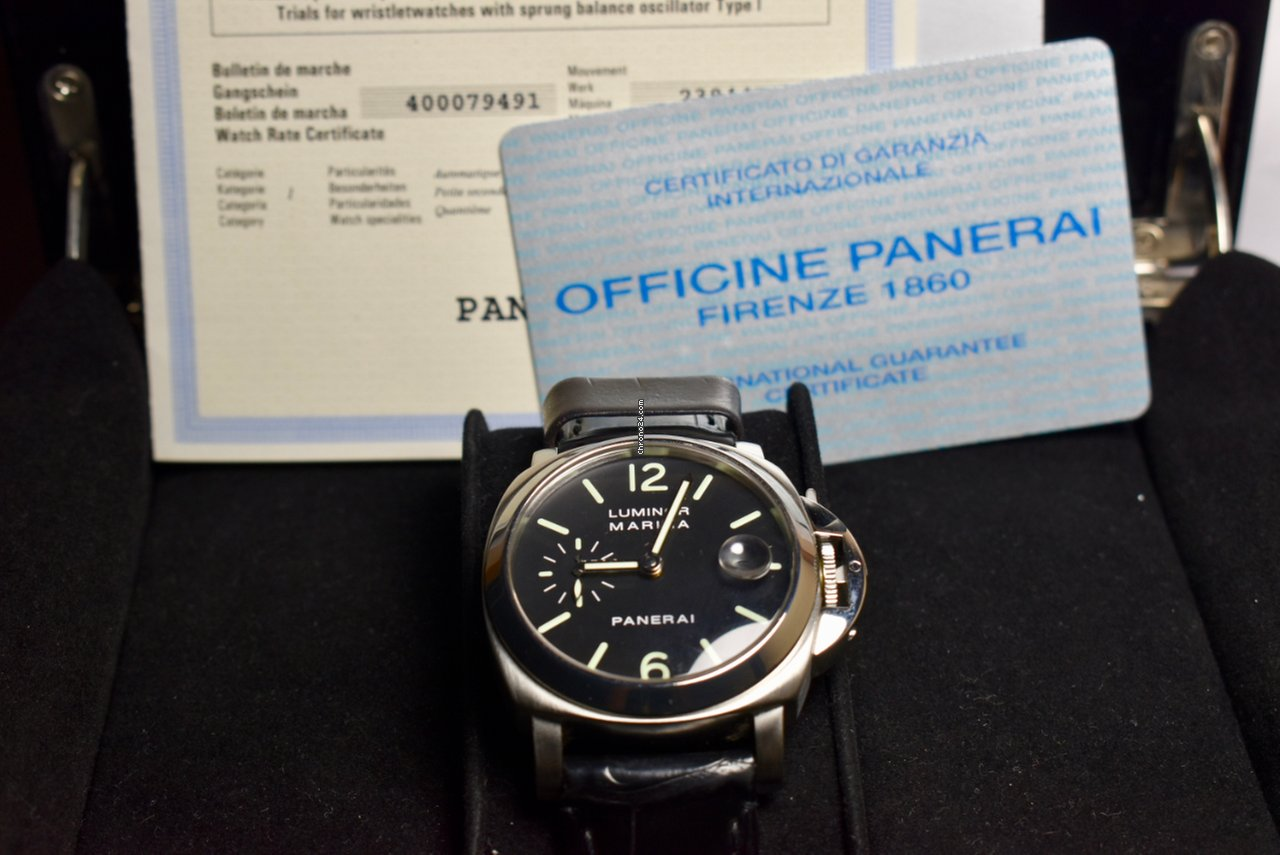 comprare popolare c9382 6b9d2 Panerai Luminor Marina 40mm.