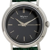 Wyler Steel 33mm Manual winding pre-owned United States of America, California, West Hollywood