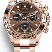 Rolex Rosa guld 40mm Automatisk 116505 ny