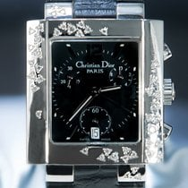Dior Ocel 32mm Quartz D81-101MAGTC použité