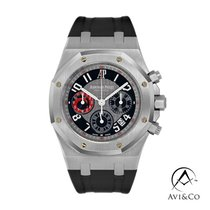 Audemars Piguet Royal Oak Chronograph Steel 39mm Grey Arabic numerals United States of America, New York, New York