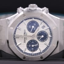 Audemars Piguet Royal Oak Chronograph Steel 38mm White No numerals United States of America, New York, New York