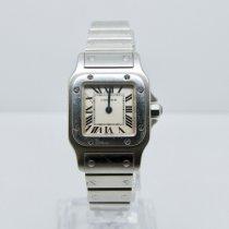 Cartier Santos Galbée Steel 24mm Silver Roman numerals United Kingdom, Watford