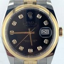 Rolex Datejust Gold/Stahl 36mm Schwarz Deutschland, Eisenach