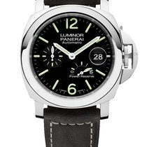 Panerai Luminor Power Reserve Steel 44mm Black Arabic numerals United States of America, New York, New York
