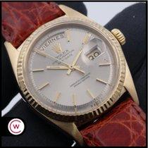 Rolex Day-Date 36 Oro amarillo 36mm Plata Sin cifras España, Asturias