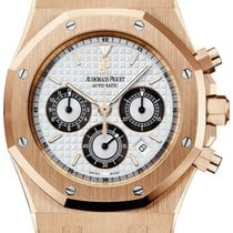 Audemars Piguet Royal Oak Chronograph Rose gold 39mm White United States of America, New York, New York