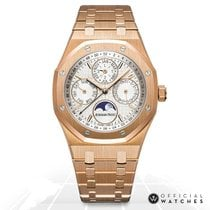 Audemars Piguet 26574OR.OO.1220OR.01 Rose gold Royal Oak Perpetual Calendar 41mm new