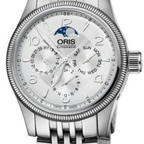Oris Big Crown Complication Steel 40mm Silver United States of America, New York, Brooklyn