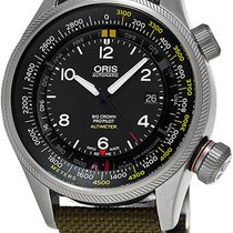 Oris Big Crown ProPilot Altimeter new Automatic Watch with original box and original papers 733.7705.4164.LS.14
