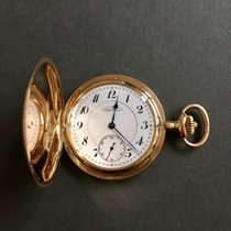 A. Lange & Söhne Watch pre-owned 1920 Yellow gold Manual winding Watch with original box and original papers