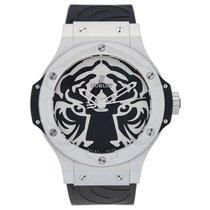 Hublot Big Bang Black Jaguar White Tiger Foundation Steel