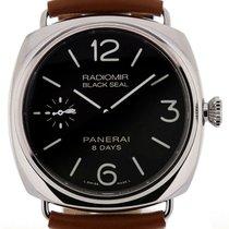 Panerai PAM00609 Luminor Black Seal 8 Days Acciaio Men's...