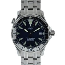 Omega Seamaster 300m Stainless Steel Blue Dial On Stainless...