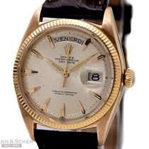 Rolex Vintage Day Date Ref-1803 18k Rose Gold Bj-1959