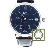IWC Portofino Hand-Wound 8 Days Blue Dial NEW