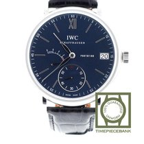 IWC Portofino Hand-Wound Сталь 45mm Синий