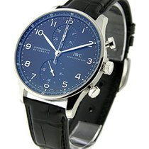 IWC 371438 Portuguese - Chronograph Automatic in Steel - on...