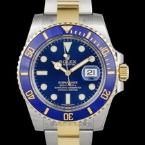 Rolex Submariner Blue/18k gold Ø40mm - 116613 LB