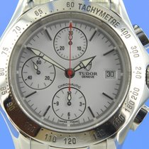 Tudor Chronautic Steel 40mm White
