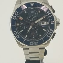 TAG Heuer Aquaracer 300M Steel 43mm Blue No numerals United States of America, Texas, Houston