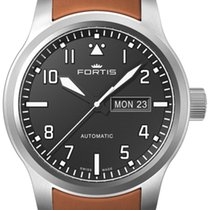Fortis Steel 42mm Automatic 655.10.10 L08 new