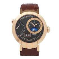 Harry Winston Rose gold 41mm Automatic PRNATZ41RR002 pre-owned United Kingdom, Bishop's Stortford