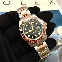 Rolex GMT-Master II ny 40mm Gull/Stål