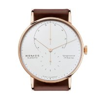NOMOS Rose gold Manual winding 42mm new Lambda