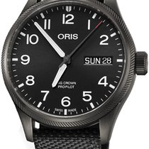Oris Big Crown ProPilot Day Date Steel 45mm Black Arabic numerals United States of America, Alabama, Oranjestad