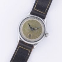 Gruen Steel 30mm Manual winding 410 pre-owned
