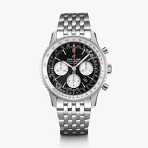 Breitling AB0121211B1A1 Steel 2019 Navitimer 1 B01 Chronograph 43 43mm new United States of America, New York, New York