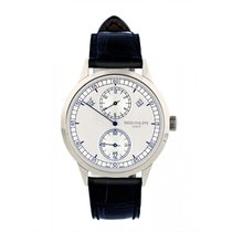 Patek Philippe Annual Calendar White gold 40mm Silver United States of America, New York, New York