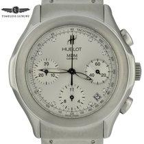 Hublot Elegant Steel 40mm Silver Arabic numerals United States of America, Georgia, Atlanta