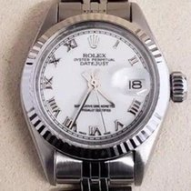 Rolex Oyster Perpetual Lady Date Steel 26mm Silver No numerals United States of America, California, Sylmar