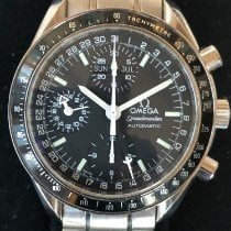 Omega Speedmaster Day Date Steel 39mm Black No numerals United States of America, New York, 2210