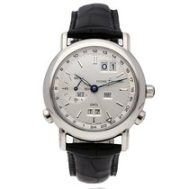 Ulysse Nardin GMT +/- Perpetual White gold 38.5mm Grey Roman numerals United States of America, New Jersey, Princeton