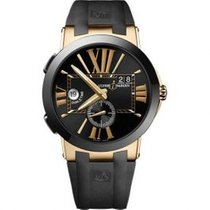 Ulysse Nardin Executive Dual Time new Automatic Watch with original box and original papers 246-00-3/42