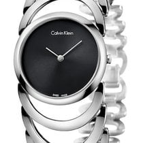 ck Calvin Klein Steel 30mm Quartz new
