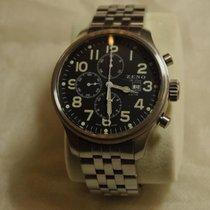 Zeno-Watch Basel Chronograph 48mm Automatik 2000 gebraucht Schwarz