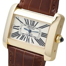 Cartier Divan Large 18K Solid Yellow Gold