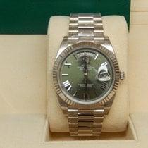 Rolex Day-Date 40 228239 Green Roman Dial