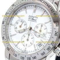 Zenith El Primero  Rainbow Chronograph White Dial 01 0360 400