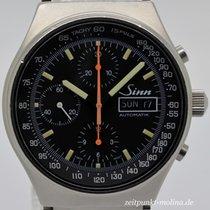 Sinn Chronograph 41mm Automatik gebraucht Schwarz