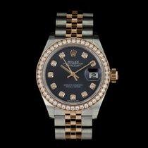 Rolex 279381RBR Lady Datejust 28 Diamond Bezel